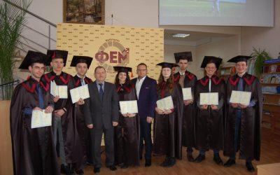 Вручення дипломів магістрам 2019 року випуску